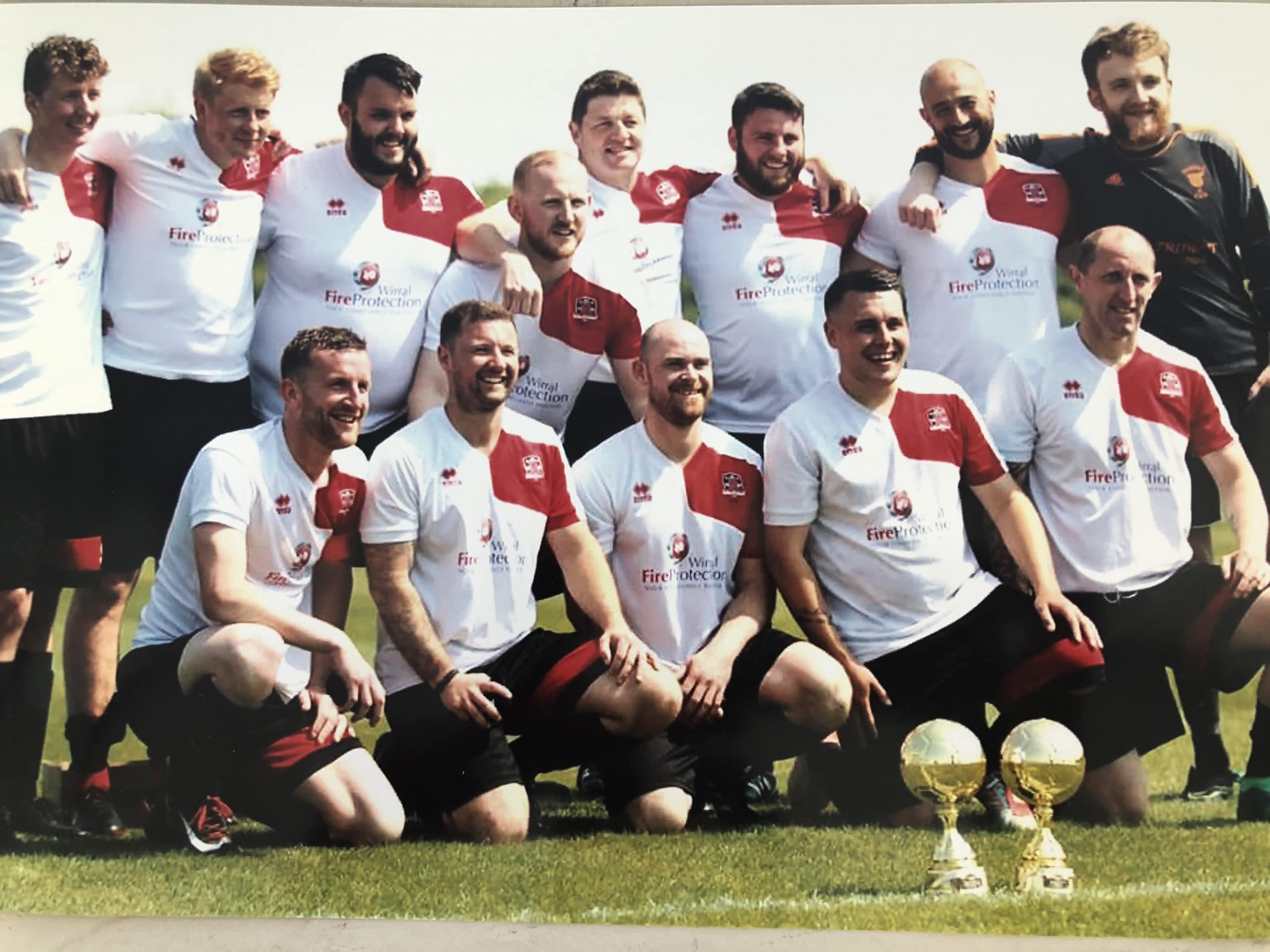 The Fire Safety Company sponsored grass roots football and it paid off with a season win
