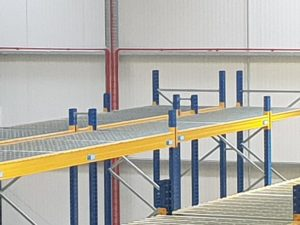 Fire safety in warehouses