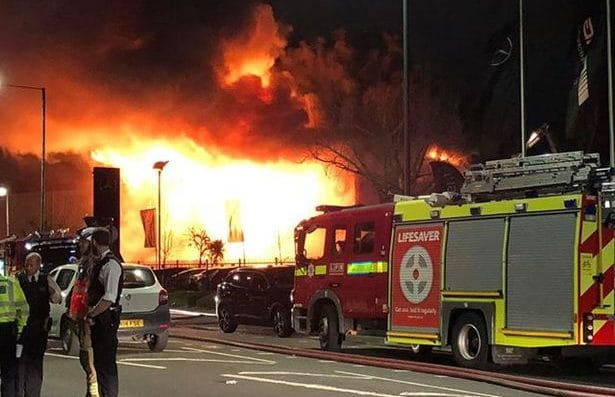 Warehouse fire safety fails people using self storage