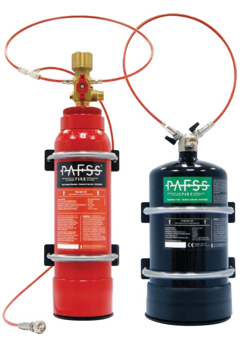 CNC automatic fire suppression uk