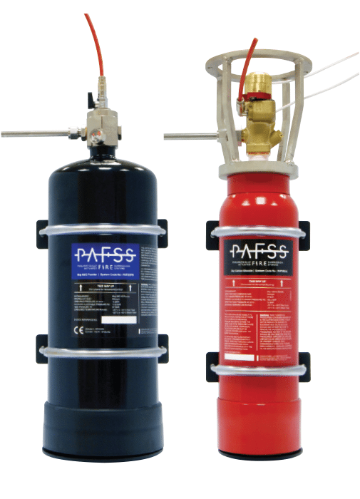 PAFSS_Fume cabinet fire suppression system